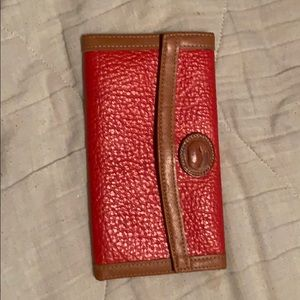 Dooney and Bourke Wallet and Checkbook holder